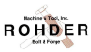Rohder Machine & Tool, Inc.